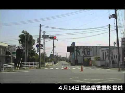 県警による浪江町請戸地区での捜索(4月14日)[20]