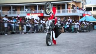 Bike show in Anguilla.