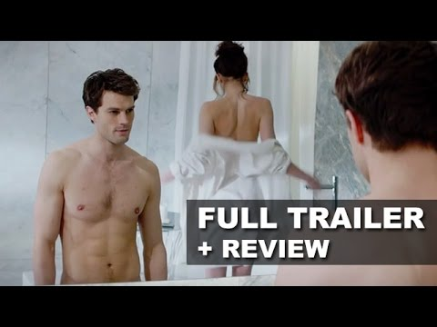 review trailer - Fifty Shades of Grey debuts its official trailer for 2015! Watch it today with a trailer review! http://bit.ly/subscribeBTT Fifty Shades of Grey debuts its o...