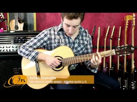Ortega Guitars | Julian Scarcella plays the STRIPED SUITE C/E