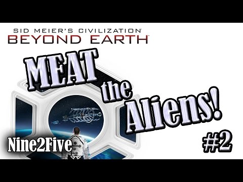 Civilization: Beyond Earth Multiplayer – Season 1, Episode 2: Meat the Aliens!