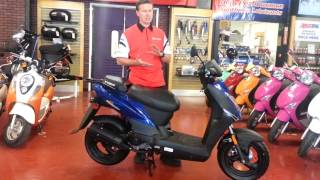 6. KYMCO Agility 50 review