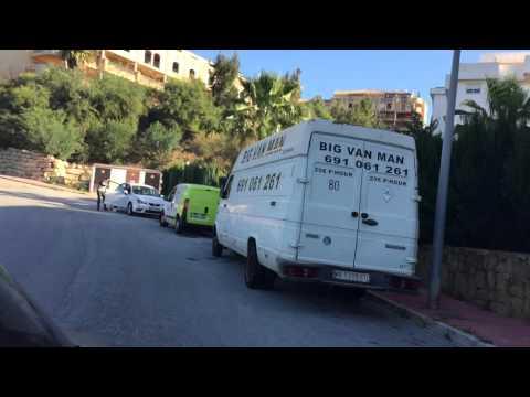 Sentido del tráfico en calle Granate