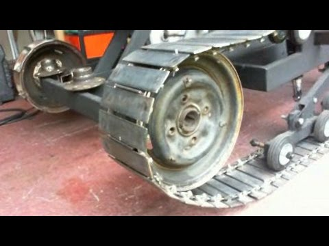 homemade - This is part 9 in my series on making a homemade personal tracked vehicle.