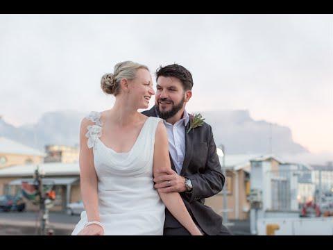 Adventure couple Riaan Manser and Vasti Geldenhuys ties the knot