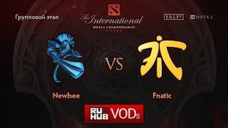 NewBee vs Fnatic, game 1