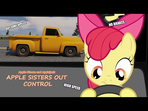 Grand Theft Pony: Apple sisters out control (pony ver.)