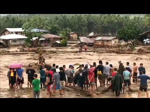Φονική καταιγίδα πλήττει τις νότιες Φιλιππίνες