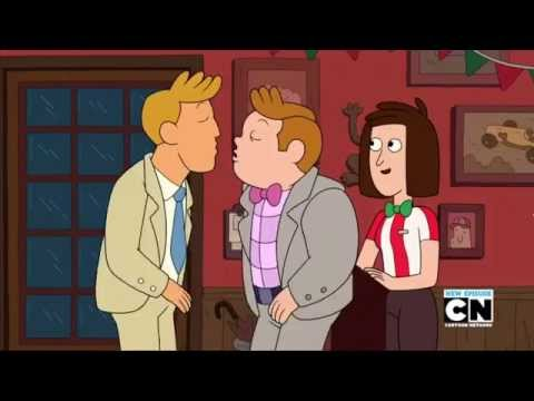 Cartoon Network shows first explicitly gay couple.
