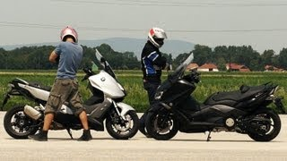 6. BMW C600 Sport vs Yamaha T-Max 530 | Extreme test