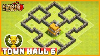 Clash of Clans - DEFENSE STRATEGY - Townhall Level 6 (CoC TH6 Defensive Strategies)
