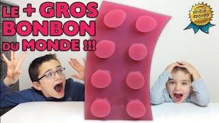 Video LE PLUS GROS BONBON LEGO DU MONDE !!!  WORLD'S LARGEST GUMMY LEGO !!! Recette bonbon GEANT XXL MP3, 3GP, MP4, WEBM, AVI, FLV November 2017