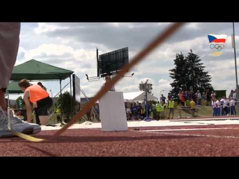 Sestřih ze středečního atletického dění na LODM v Plzni