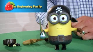 TheEngineeringFamily Unboxing Minion Stuart Figures