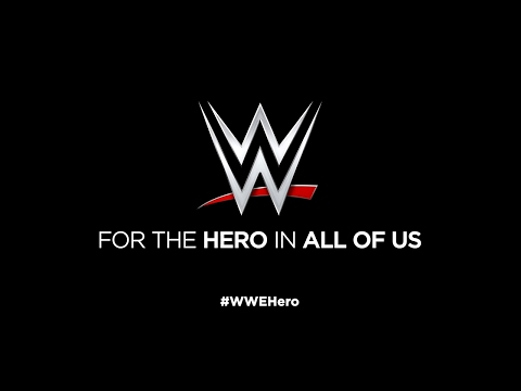 "WWE recognizes the ""Hero in All of Us"""