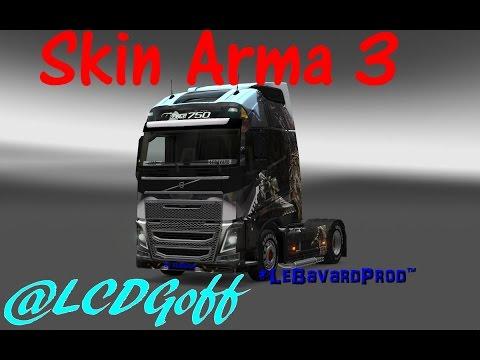 Skin Arma3 Volvo FH2012 By LeBavard
