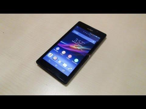 how to sony xperia c