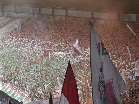 O MOSAICO TRICOLOR - SENSACIONAL - (FLA x FLU) - Movimento Popular Legião Tricolor - Fluminense