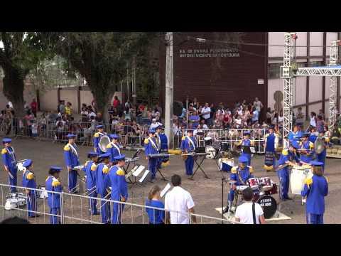 Banda Marcial Roque Gonzáles - Festival de Cachoeira do Sul 2013