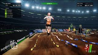 Monster Energy Supercross - Arlington (AT&T Stadium) - Gameplay (PC HD) [1080p60FPS]