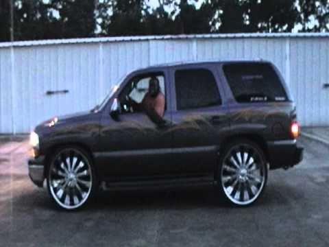 Tahoe on 28's