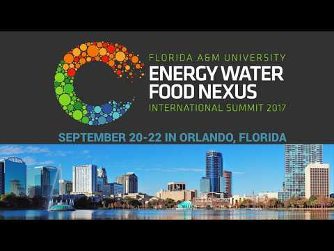 FAMU, City of Orlando Will Host International Summit to Address Energy, Water, Food Crisis