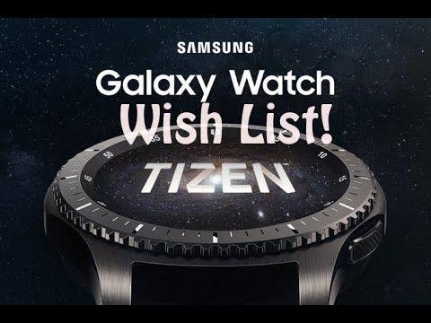 Samsung Galaxy Watch Top Wish List : Sapphire and Ceramic Bezel