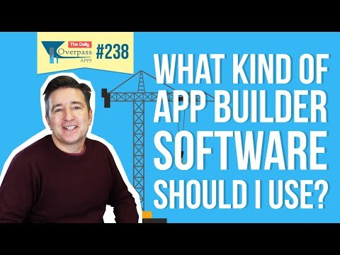 📱 What Kind of App Builder Software Should I Use?