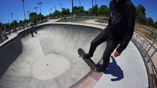 Today, in what is possibly the most requested video of all time, we skate the big bowl at Fremont. The only problem is it doesn't go anywhere near as expected. It was a still a lot of fun though! For more regular skating check out this playlist: https://www.youtube.com/watch?v=PHZ07W2DvpY&t=1s&index=3&list=PLjpsoptsN4KDRVFMxLzSD4hUd6taAabkbhttp://www.brailleskateboarding.com/how-to-skateboard/YOU CAN LEARN TO SKATEBOARD! CLICK ABOVE TO GET THE MOST DETAILED HOW TO SKATEBOARD LESSON PLAN EVER MADE!  SKATEBOARDING MADE SIMPLE!Big thanks to Gabe Cruz for his help in editing this video: http://www.youtube.com/braillearmyFetty: http://www.youtube.com/fettypotterKelly: http://www.youtube.com/kellywakasaGET SKATEBOARDING MADE SIMPLE ON iBOOKS! https://itunes.apple.com/us/artist/aaron-kyro/id733499725?mt=11GET SKATEBOARDING MADE SIMPLE ON GOOGLE PLAY https://play.google.com/store/books/details/Aaron_Kyro_Skateboarding_Made_Simple_Vol_1?id=8BEbBQAAQBAJSkateboarding Made Simple on Amazon: https://www.amazon.com/Skateboarding-Made-Simple-Braille-Aaron/dp/B01LYPOIVP/ref=sr_1_1?ie=UTF8&qid=1482278130&sr=8-1&keywords=skateboarding+made+simpleFOLLOW ON SOCIAL MEDIAINSTAGRAM https://instagram.com/brailleskate/FACEBOOK: http://www.facebook.com/BrailleSkateboardingGOOGLE +: https://plus.google.com/107594784940938640430TWITTER: http://twitter.com/#!/BrailleSkateFor general inquiries email contact@brailleskateboarding.comFor business, brand or media inquiries please email jen@brailleskateboarding.comCHECK OUT OUR WEBSITE FOR ALL THE LATEST BRAILLE NEWS AND UPDATES!!! http://www.brailleskateboarding.comTHUMBS UP FOR MORE VIDEOS!PLAYLISTS LINKS FOR MOBILE USERSlearn to skate: http://www.youtube.com/playlist?list=PL34F060CE1BA3E968SKATE SUPPORThttp://www.youtube.com/playlist?list=PL2E1C0A94C6B6CEBB&feature=view_allCLIPPEDhttp://www.youtube.com/playlist?list=PLjpsoptsN4KCS-4mngnS8xM4ZXwpn60NQ&feature=view_allslow motionhttp://www.youtube.com/playlist?list=PLC8009736C487A442&feature=viewall