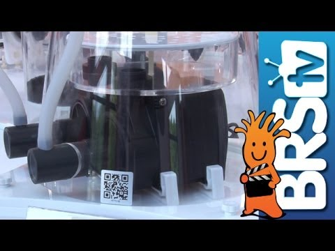 Skimz Protein Skimmers, Nano Tank, and More! | Interzoo 2014