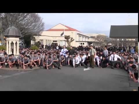 PNBHS Haka for Mr Dawson Tamatea s Funeral