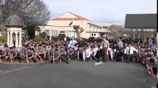 PNBHS Haka for Mr. Dawson Tamatea's Funeral Service