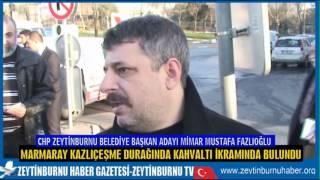 CHP Belediye Başkan Adayı Fazlıoğlu'ndan kahvaltı ikramı