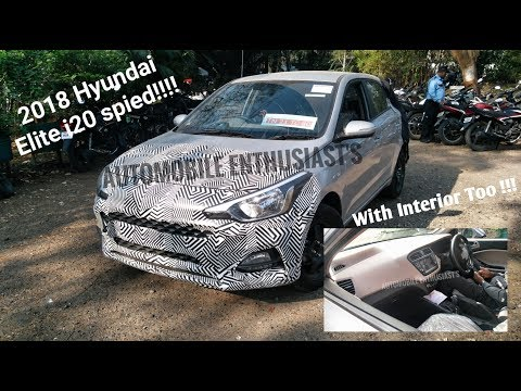 Video 2018 Hyundai Elite i20 Spied In India with Interior to !!! download in MP3, 3GP, MP4, WEBM, AVI, FLV January 2017