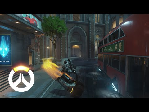 Overwatch - Reinhardt Gameplay Preview