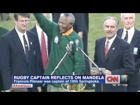 Francois Pienaar on seeing Mandela wearing his Springbok rugby jersey