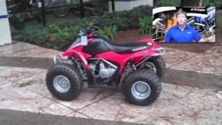 4. 2007 Honda TRX 90