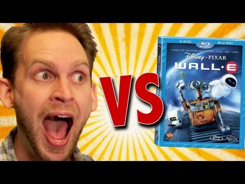 Disney's Wall-E Blu-Ray Unboxing
