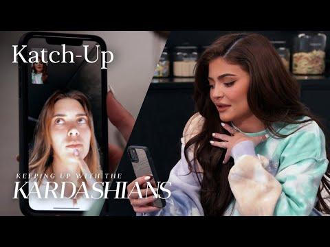 "Kendall & Kylie Make Nice: ""KUWTK"" Katch-Up (S19, Ep7) | E!"