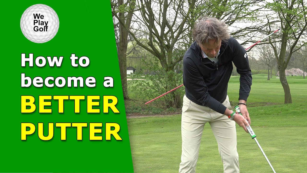 The correct pendulum action of your putter