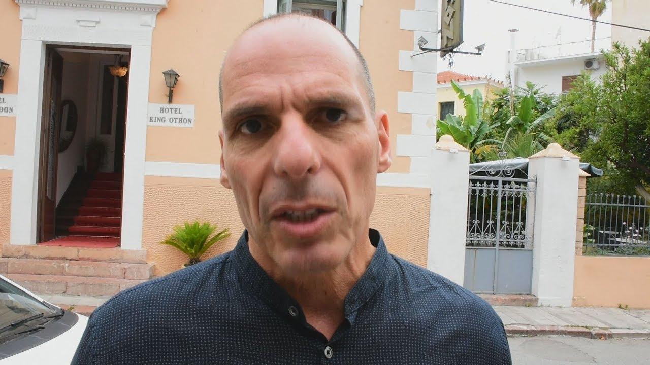 Στο Ναύπλιο ο γραμματέας του ΜέΡΑ25, Γιάνης Βαρουφάκης