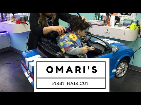 Omari's First Haircut