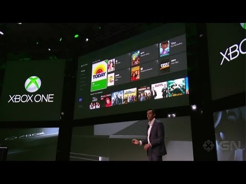 Microsoft's nieuwe gamesconsole Xbox One is behalve gamesconsole een entertainmentHUB waarop vershillende aanbieders eigen content aanbieden. Daarnaas