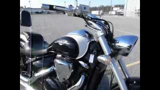 4. 2009 Suzuki Boulevard M50 stock #9-0611 demo ride and walk around