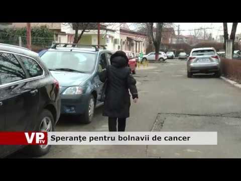 Speranțe pentru bolnavii de cancer