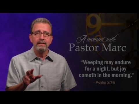 "A Moment with Pastor Marc #50<br /><strong>""Self-Encouragement""</strong>"