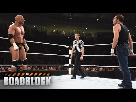 WWE Network: Dean Ambrose vs. Triple H - WWE World Heavyweight Title Match: WWE Roadblock 2016