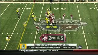 DJ Fluker vs Michigan (2012)