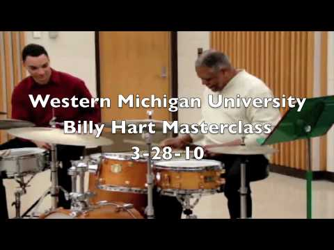 Billy Hart Masterclass at WMU