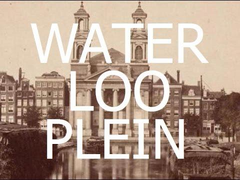 Waterlooplein: de geschiedenis - Waterloopleinmarkt